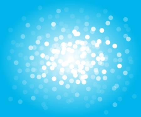 entity: Glittering  space vector  background  flares and sparks - Vector  blue entity in space  background illustration Illustration