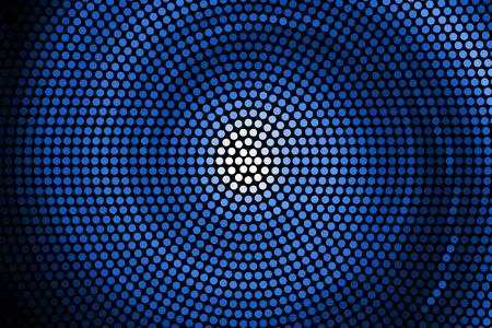 espiral: Ilustraci�n de la galaxia espiral. Vector. espiral azul abstracto Vectores