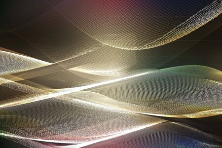 Abstract ardent background. Vector. abstract orange background of glowing lines