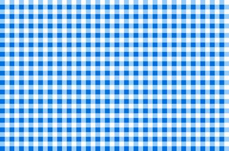 Pattern picnic tablecloth vector. blue tartan, 10 eps Vector