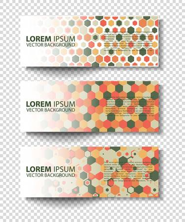 design abstract: Vector colorful progress banners collection. set of colored vector rectangular banners