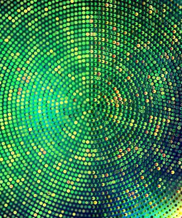 emerald halftone background.        Illustration