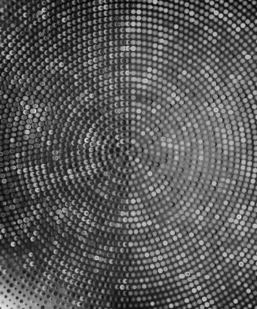 paillette: Background with shiny sequins.  vector illustration. silver halftone background Illustration