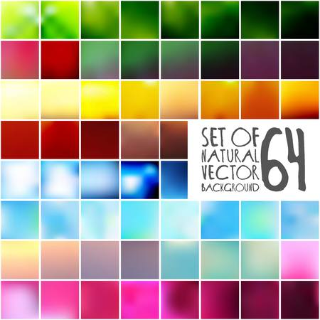 Big set of vector blurred backgrounds. The collection covers for your projects. Colored meshes for presentations and web projects 10 eps