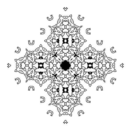 sacramentale: Bella Deco Nero Mandala.