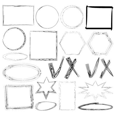handdrawn: Illustration of Hand-Drawn Doodles and Design Elements.