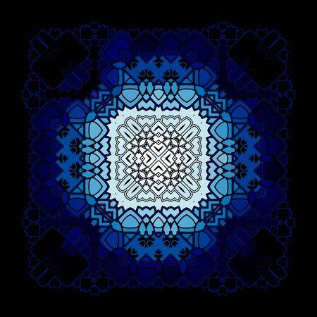sacramental: Vector Beautiful Deco Black Mandala Illustration