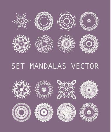 decorative elements: Vintage decorative elements. Vector illustration.