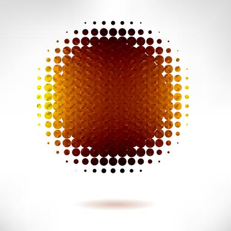 shone: gold banner vector. vector illustration, 10 eps