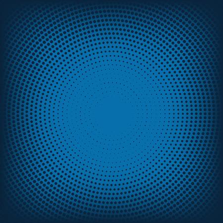Vector abstracte achtergrond van blauwe halftone. 10 eps
