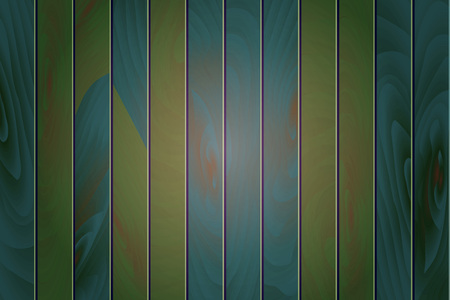 old wooden wall, green background, vector. green vintage wooden vector background Ilustração