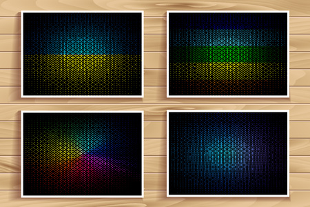 abstract backgrounds: Abstract colorful blurred backgrounds.