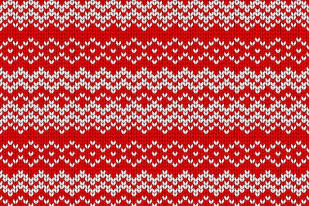 Seamless knitted pattern. Seamless knitted pattern. Vector illustration for your graphic design