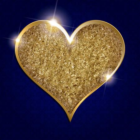 Valentine s Day Heart Symbol. Love and Feelings Background Design. Vector illustration