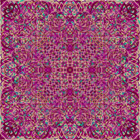 Vintage seamless pattern in Arabic style. Vector illustration. For your graphic design. 写真素材 - 122861573