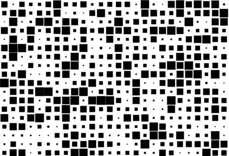 Abstract geometric pattern with small and large squares. 写真素材 - 127485543