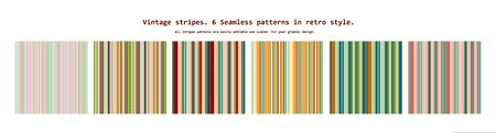 Set seamless patterns with fabric texture. Vector illustration  イラスト・ベクター素材