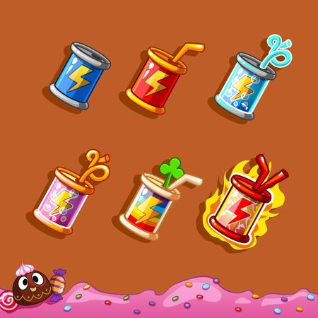 booster: botella de energ�a, refuerzo para la interfaz del juego