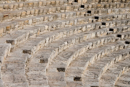 fragment of ancient amphitheater  Courion, Cyprus, Europe Stock Photo - 24935233