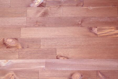 wooden background, brown table, boards with knots, top view 스톡 콘텐츠
