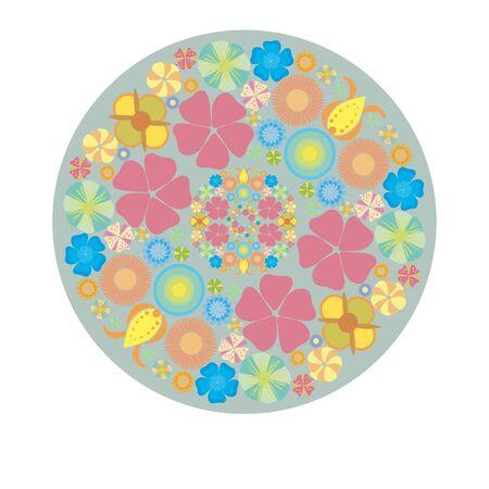 sumer: ornament round decorative