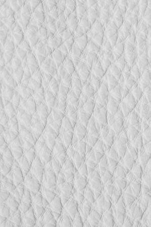 White Luxury leather samples close-up. Can be used as background. Industry background.