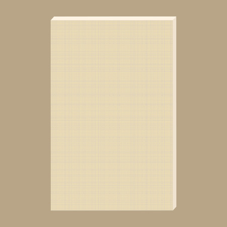 white blank: blank canvas. White canvas with delicate grid to use as background. Canvas for painting. Illustration