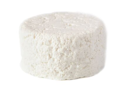 cottage cheese isolated on a white background