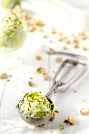pistachio ice cream 版權商用圖片