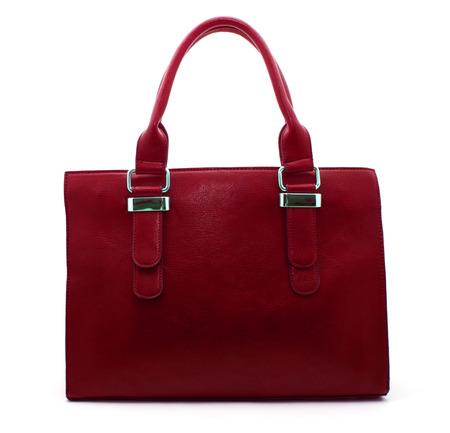 leather bag: Leather bag. Fashion concept
