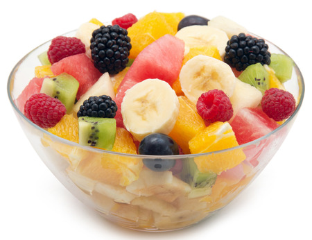 ensalada de frutas: Ensalada de fruta Foto de archivo