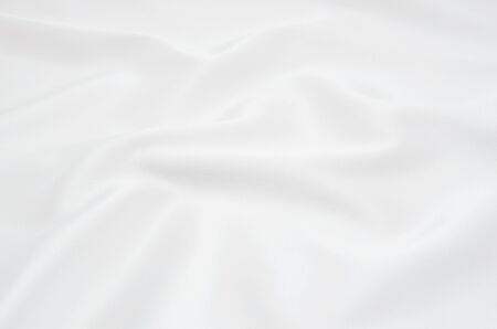 white satin fabric as background Banco de Imagens - 37649642