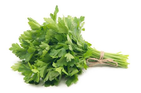 a bunch of parsley Banco de Imagens