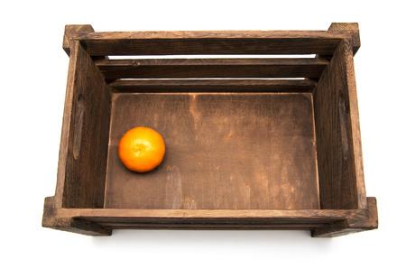 mandarin in box photo