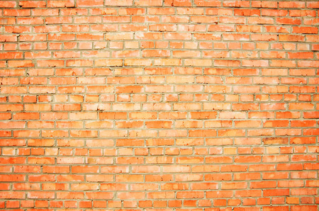 deteriorating: brick wall Stock Photo