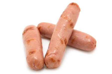 hashbrown: Grilled Sausages for Breakfast