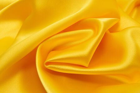 Smooth elegant golden silk can use as background