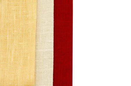 napkins: multicolored napkins Stock Photo
