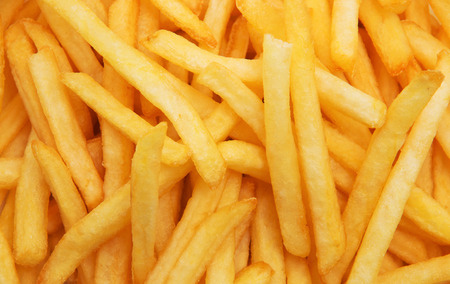 French fries background Reklamní fotografie - 39887583