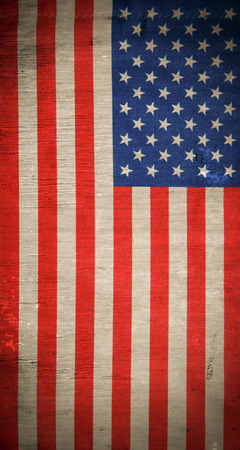 usa flag: Grunge USA flag background