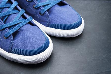 the pair: Pair of new sneakers