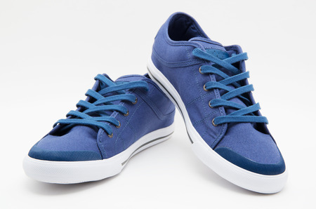 zapato: Par de zapatos nuevos Foto de archivo