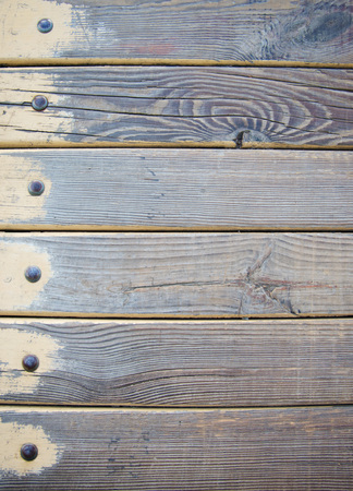 wainscot: wood planks