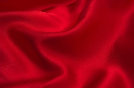 red satin or silk fabric as background Zdjęcie Seryjne