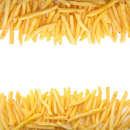 french fries Standard-Bild