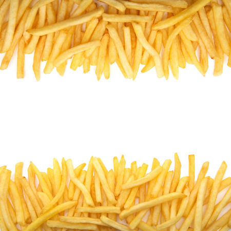 french: french fries Stock Photo