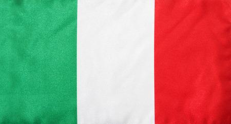 italy flag Banco de Imagens