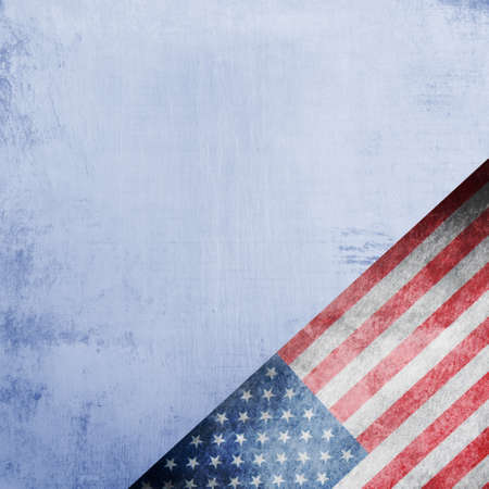 advertise with us: Closeup of American flag on grunge background