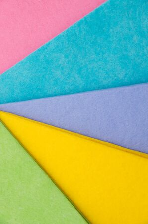 felt: Selection of colorful felt sheets