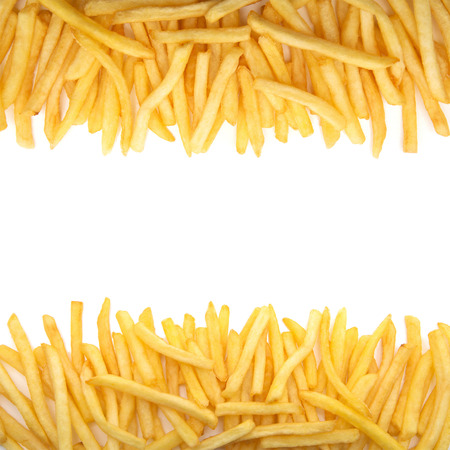 fry: french fries Stock Photo